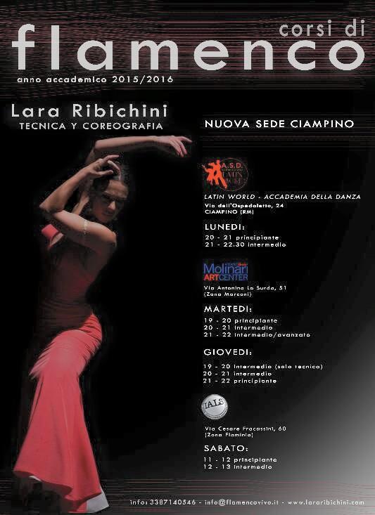Flamenco a Roma | Lara Ribichini | Corsi di Flamenco