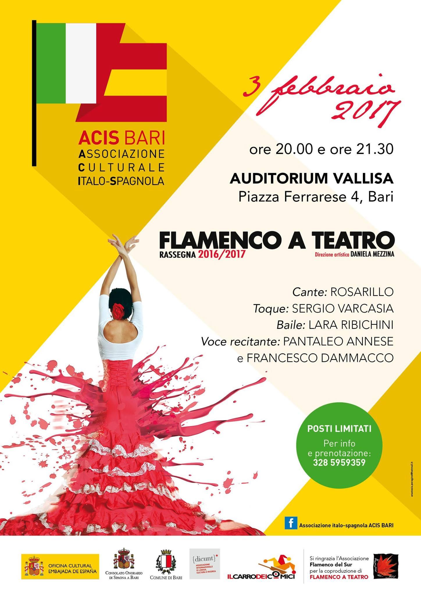 Corsi Flamenco a Roma